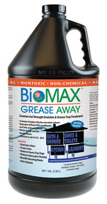 BioMax Grease Away septic tank cleaning product