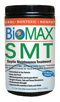 BioMAX Septic Tank Maintenance Products